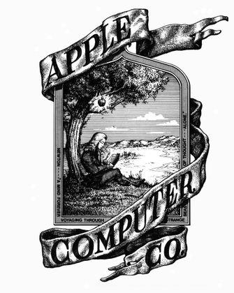 Apple Logo Newton
