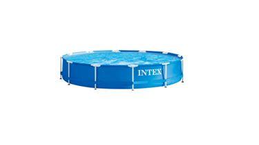 intex familiezwembad Aldi