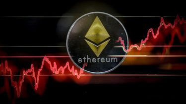 Ethereum Ether cryptocoin