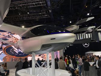 CES 2020 Hyundai vliegende auto