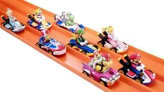 Hot Wheels Mario Kart