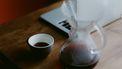 filter koffie laptop thuiswerken