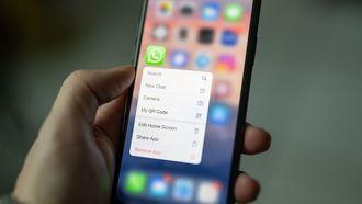 Whatsapp op de smartphone