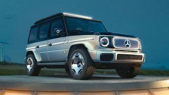 Mercedes-Benz elektrische auto Mercedes-Benz EQC