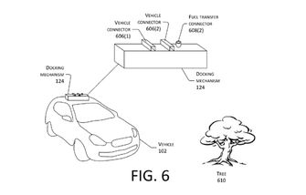 Amazon patent oplaad-drone