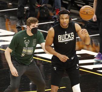 NBA Finals Milwaukee Bucks vs Phoenix Suns
