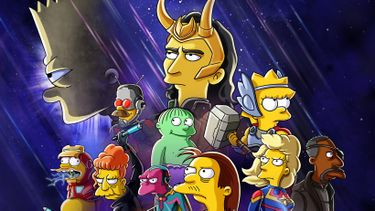 Disney Plus The Good The Bart and The Loki Simpsons