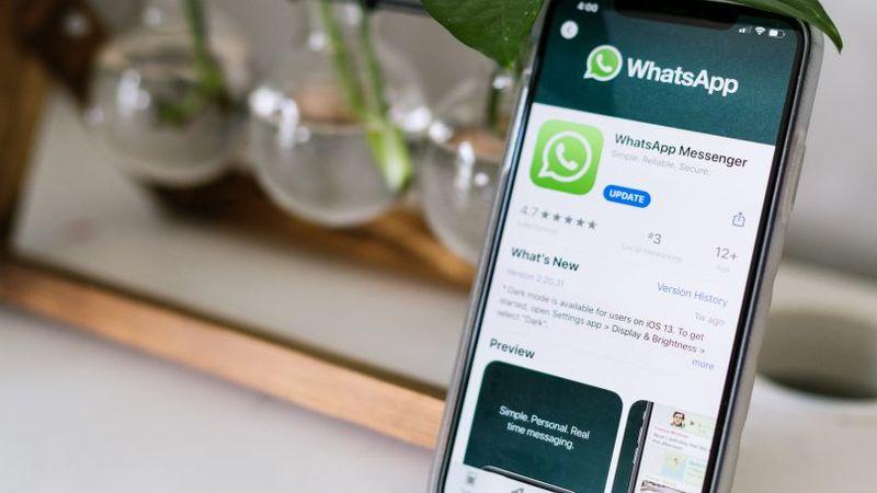 WhatsApp op iPhone
