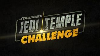 Disney Plus Star Wars jedi temple challenge logo