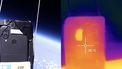 CAT Smartphone in de ruimte