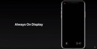 iOS 12 concept Always On Display