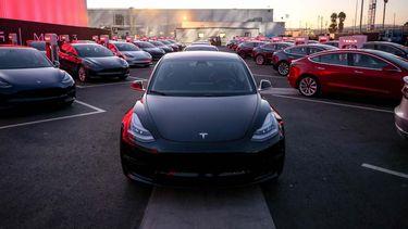 Tesla Model 3 Amazon elektrische auto