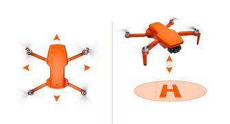 oranje drone AliExpress