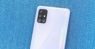 Samsung Galaxy A51 preview camera