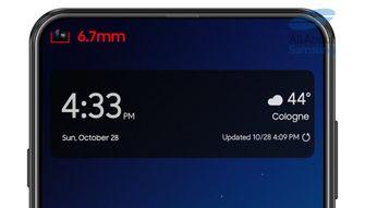 Samsung Galaxy A8s Galaxy S10
