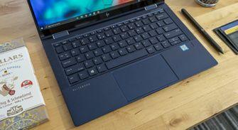 HP Elite Dragonfly review toetsenbord