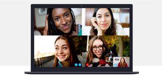 Skype groepsgesprek