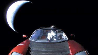Starman Tesla Roadster Elon Musk Westworld