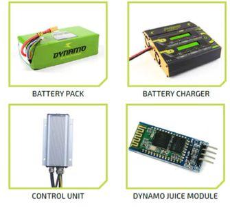 Dynamo One elektrische crossfiets