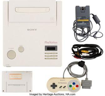 De PlayStation SNES prototype