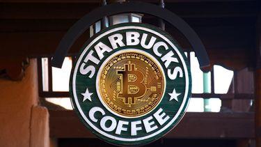 Starbucks coffee cryptocoins bitcoin