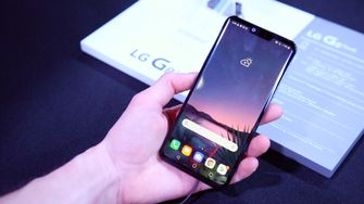 LG G8s ThinQ preview design