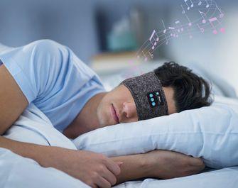 Bluetooth oogmasker