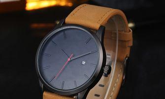 Matzwart horloge