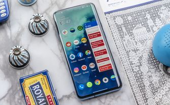 OnePlus 7T Pro review ontwerp