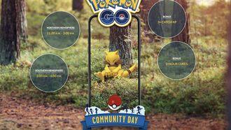 Pokémon go Community Day maart Abra