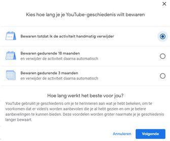 YouTube geschiedenis
