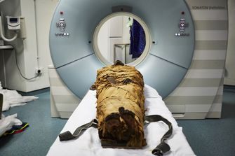 Nesyamun, mummie, stem, egypte, 3d-printer, spraakkanaal, Leeds City Museum
