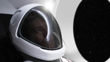 SpaceX Elon Musk ruimtepak