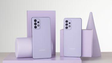 Samsung Galaxy A52 en A72