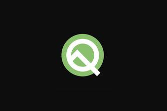 Android Q logo Google