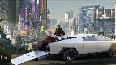 Cyberpunk 2077 Cybertruck