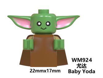 Baby Yoda LEGO AliExpress