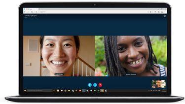 Skype camera