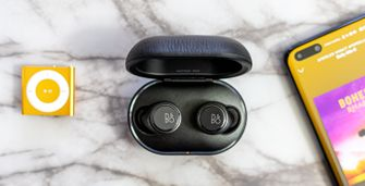 B&O Beoplay E8 3.0 review in doos