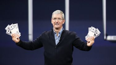 Tim Cook Apple CEO geld