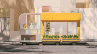 Ikea Cafe autonome auto