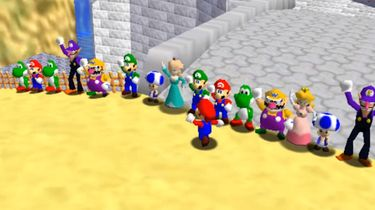 Super Mario 64 online multiplayer