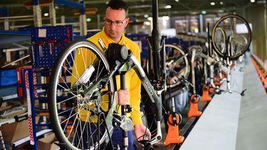 Gazelle elektrische fiets e-bike fabriek