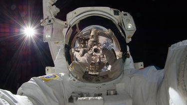 astronaut ruimte NASA ISS