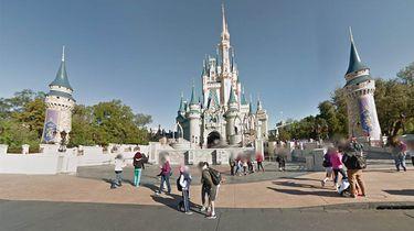 Disney Google Maps