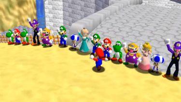 Super Mario 64 online multiplayer