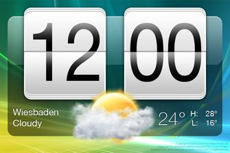 HTC clock Android app