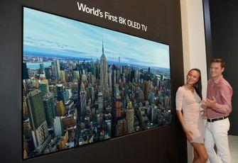 LG 8K OLED-televisie