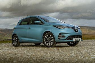Renault Zoe elektrische auto