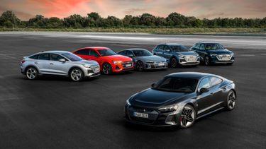 Elektrische auto's van Audi